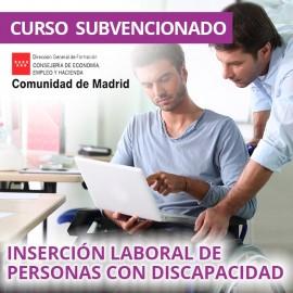 Inserción laboral de personas con discapacidad. Certificado de profesionalidad. Madrid
