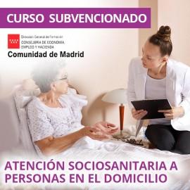 Atención sociosanitaria a personas en el domicilio. Certificado de profesionalidad. Madrid