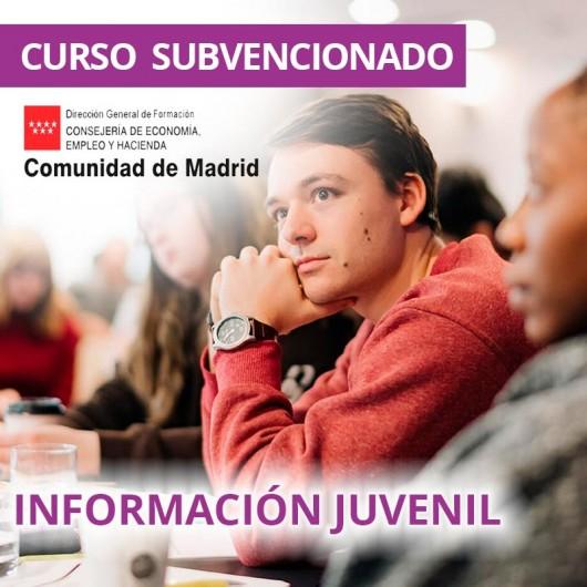 Información juvenil. Certificado de profesionalidad. Madrid